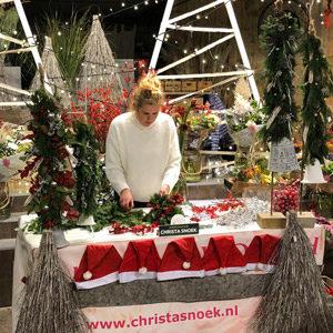 kerst workshop diy christa snoek bloemsierkunst